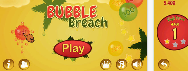 iOS Game – Bubble Breach (Cocos 2D)