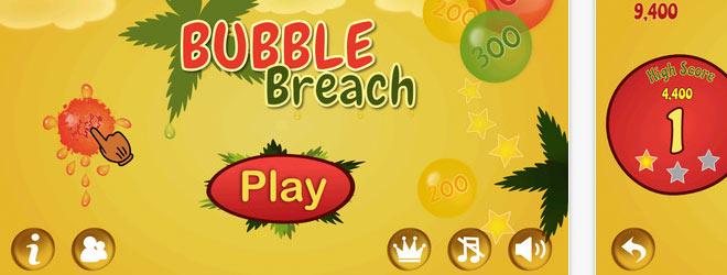 iOS Game - Bubble Breach (Cocos 2D)