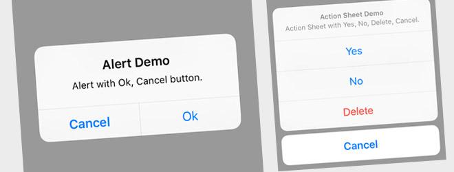 UI Demo - UIAlertController (Swift 2, iOS 9)