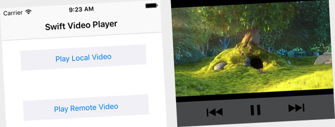 Swift Video Player